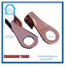battery terminal clamp with copper plated alligator clips
