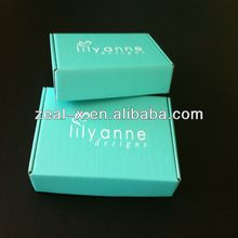 High quality Fashion Customized corrugated shipping Box