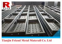 210mm steel plank/BS1139 metal deckingfor construction