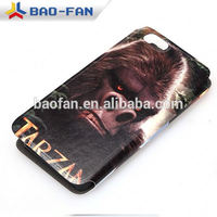 Leather flip blank sublimation cover for Phone 6 plus