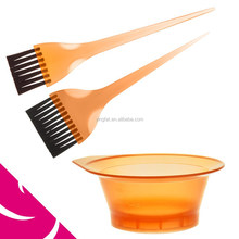 FASHIONABLE SALON OR HOME-USED PLASTIC TINT BOLW AND TINT BRUSH SET