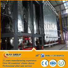 recycling vegetable oil animal fat biodiesel distillation processor