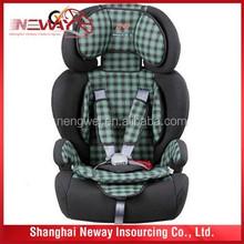 HDPE+Cloth+sponge children car safety seat(4-12 years)