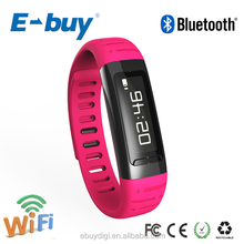 E-buy 2014 New Waterproof Digital Bluetooth smart watch with heart rate monitor with pedometer wifi hotspot E-104