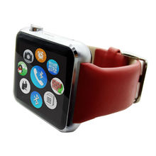 2015 Newest Android Smart Watch, Fitness Tracker Dial Call Genuine Leather Android Smart Watch/