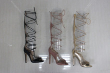 Latest Girls High Hell Lace up Roman sandal
