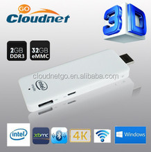 2015 latest Intel Quad Core Z3735F 2G/32G windowsmini pc TV dongle windows8.1 Android Ubantu set top box compute stick