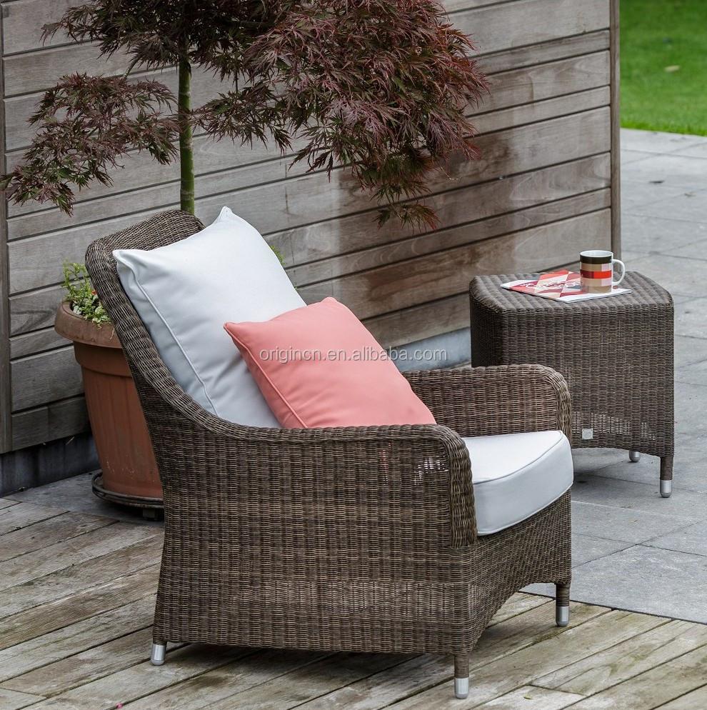 Sillones de mimbre para terraza fabulous mesa redonda con for Sillones de terraza
