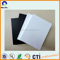 Hotsale high density pvc rigid foam sheet black