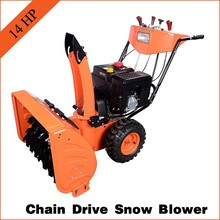 14HP 420CC gasoline snow thrower with good quality snow blower