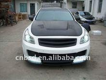 07-10 Carbon Fiber Grill for Infiniti G37 4DR (Fit 8348ELT Front Bumper Only)