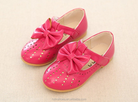 Children's shoes girls dolly shoes fall 2015 New Girls Princess Shoes Korean ribbon bowtie Back to school shoes
