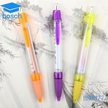 Promotional product plastic pen/promotion pen/pull out banner pen
