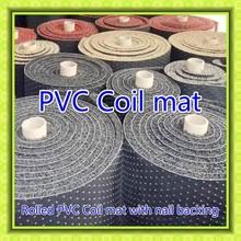 durable soft car flooring stable anti slip pvc car carpets vinyl car foot mats