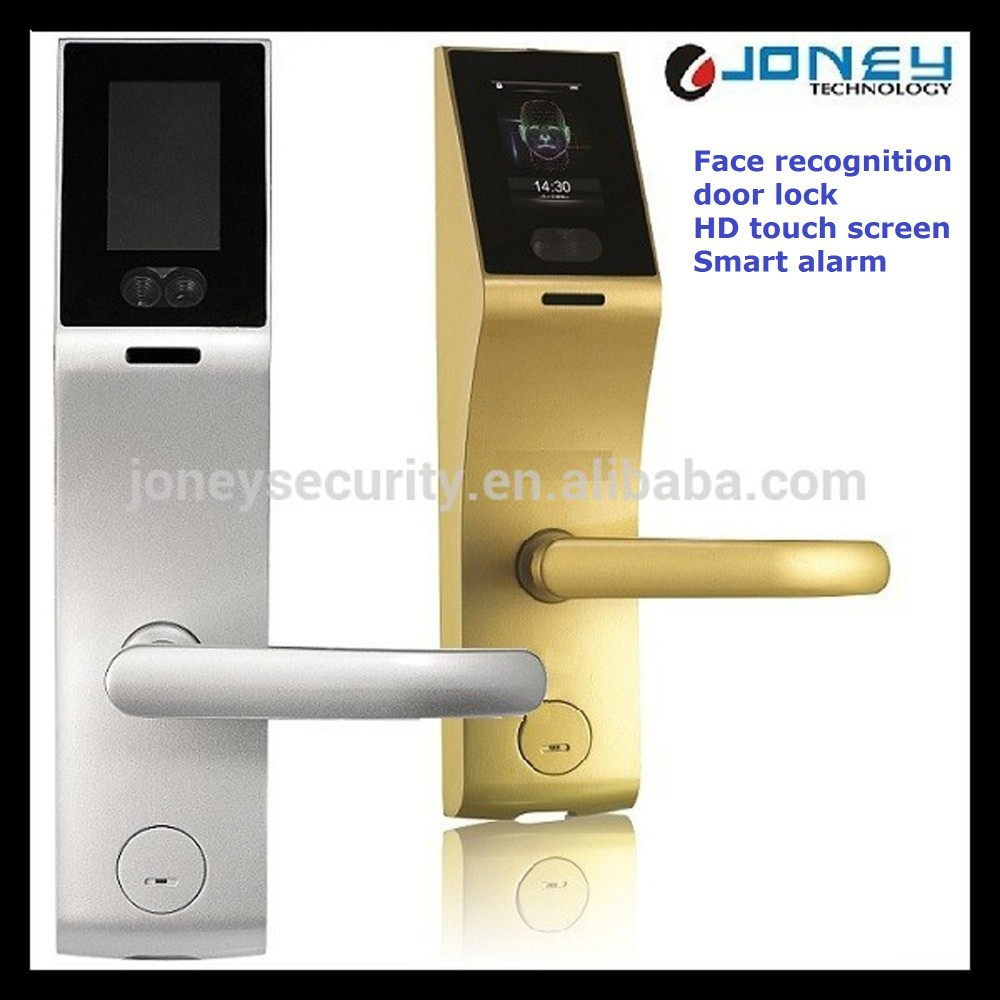 3 inch capacitive touch screen biometric face recognition for 1 touch door lock
