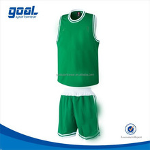 Top grade factory price basketball jersey uniform design sets