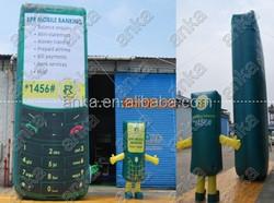 Custom all phone model , giant inflatable mobile phone