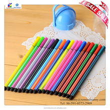 Promotional Colorful Customise logo Fluorescent pen for gift