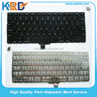 "Laptop keyboard for Macbook Pro Unibody 13.3"" A1278 US/IT/SP/RU/AR/UK"