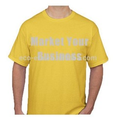New 2014 wholesale Bulk Plain White T shirts China Manufacturer Factory Direct Make Your Own Advertising T-shirt