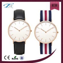 2014 hot selling mens watches fashion 2014 with large face with leather band western style hot in Europe