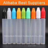 hot new product pe bottle or preform with clear cap and dropper drop for e-cig oil