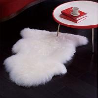Anti-slip thin mat animal skin carpet rug hotels bath rug