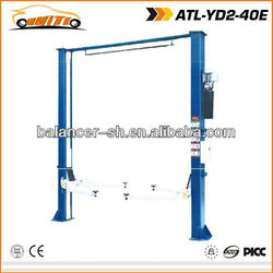 Maintenance equipment of two post lift with CE