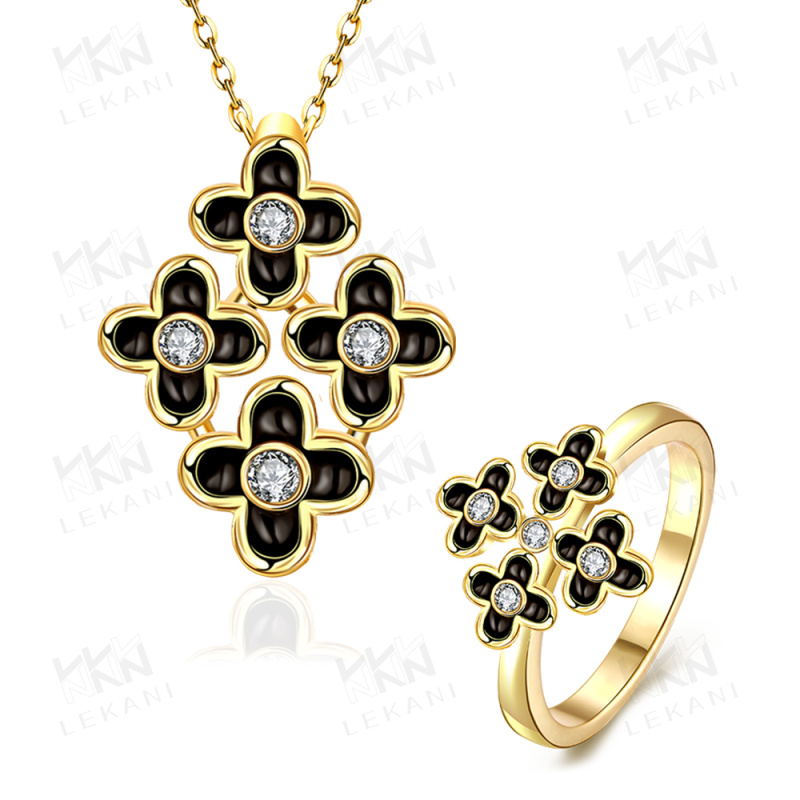 hotsale dubai gold plated jewelry cheap necklace and rings