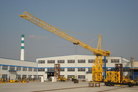 CANMAX Tower Crane 6tons Max Lifting Capacity