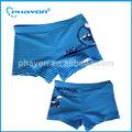 Venta al por mayor un patrón de rayas los niños traje de baño, pantalones cortos de natación para niños