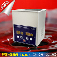 Jeken digital ultrasonic nozzle cleaner PS-08A 1.3L , industrial ultrasonic cleaning baths