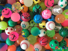 China Manufacture 2015 Wholesale Kids Toy Ball Economic Rubber Bounce Ball