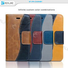 customs genuine leather cheap mobile phone case