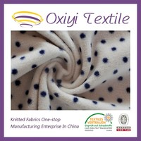 custom printed polar fleece fabric