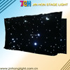 Fireproof stage starlit led backdrop curtains for sale
