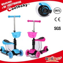 MG-7 2015 hot sale kids scooter mini micro 3 in 1 kids scooter and OEM Factory