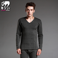 comfortable and Breathable, Combed Cotton Long Johns men's heated thermal underwear for winter