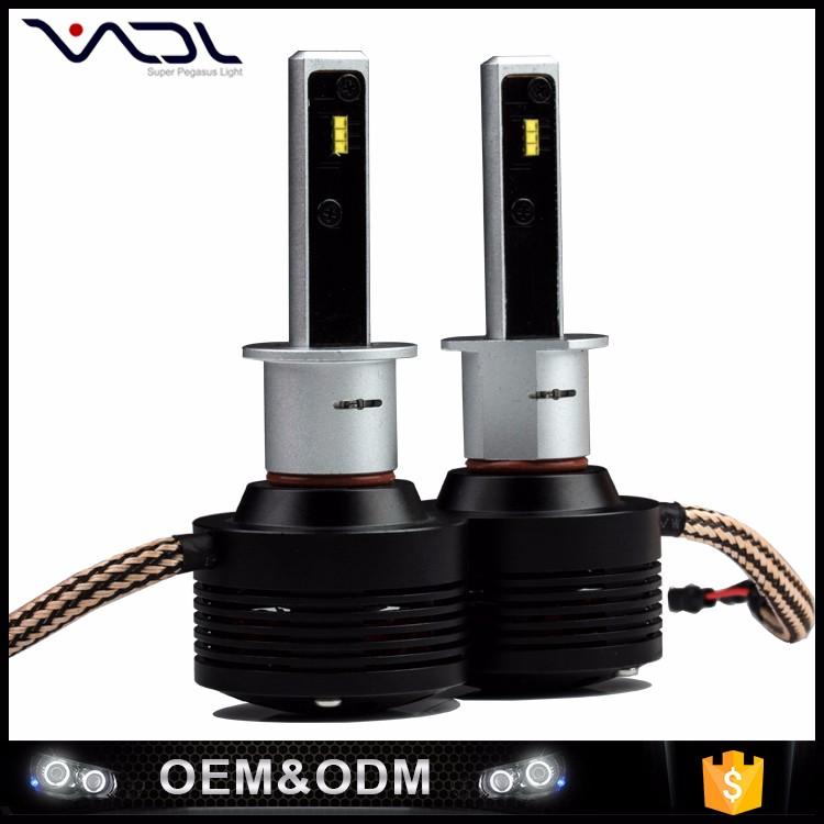 Produtos à venda Hot atacado 2 pcs H1 lâmpada de cabeça led farol 4800LM com Phillip chip de luz do carro de 360 graus