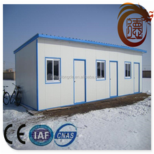 2015 hot selling prefab steel structure mobile house / mobile office / mobile hotel