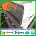 livraison rapide en laiton acier inoxydable tisco prix feuille