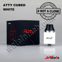 In stock atomizer rda cube atty atomizer Wholesale price best selling box mod advantages box mod atty box mod