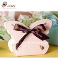 borboleta em forma de caixa dos doces caixa favor do casamento