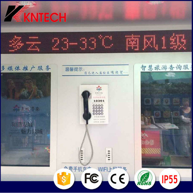 Bank Services Telephone wall mounted Knzd-27 Kntech.jpg