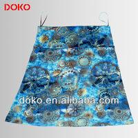 2015 Viscose /Elastane printed Ladies Skirts