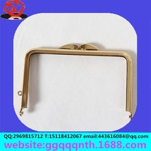 craft Hardware bag accessories metal stainless steel gold silver bronze antique bag money wallet rectangle frame clasp