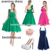 Walson 2015 wholesale Swing Dress PinUp Wedding Evening dress PLUS Size