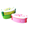 new style double layer plastic lunch box,plastic lunch box for kids