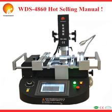 Caliente wds-4860 manual infrarrojo chip bga reparación de la máquina para la reparación del ordenador portátil móvil