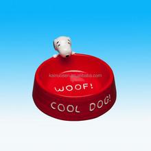 Custom Personalized Novelty Ceramic Dog Bowl For Pet